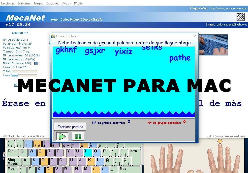 descargar mecanet en Mac