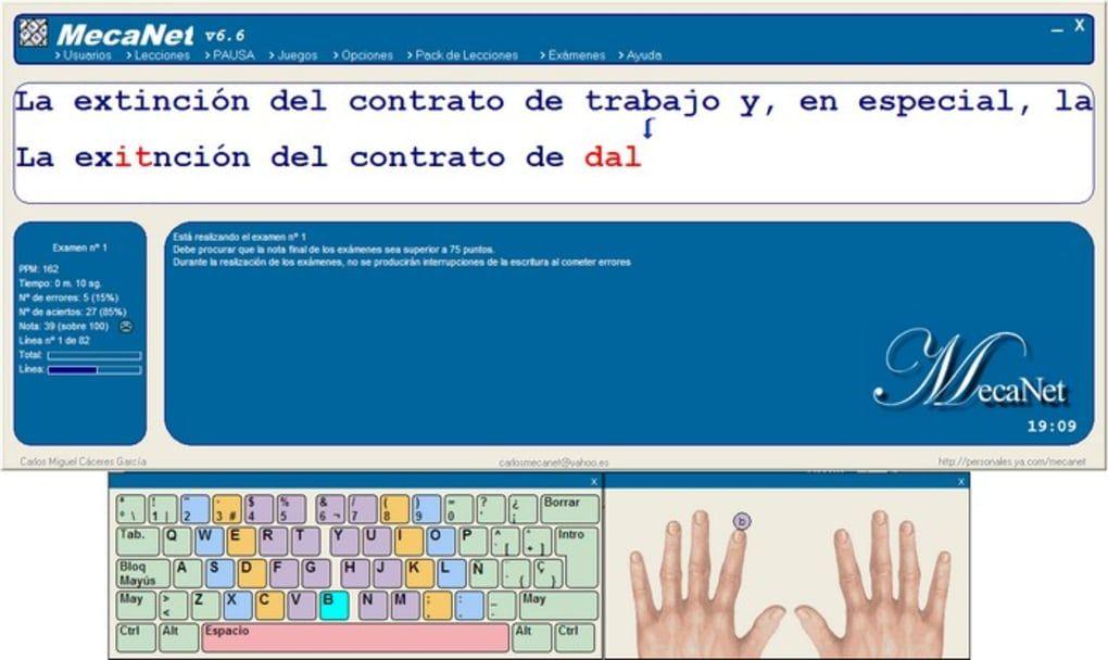 mecanet windows 7