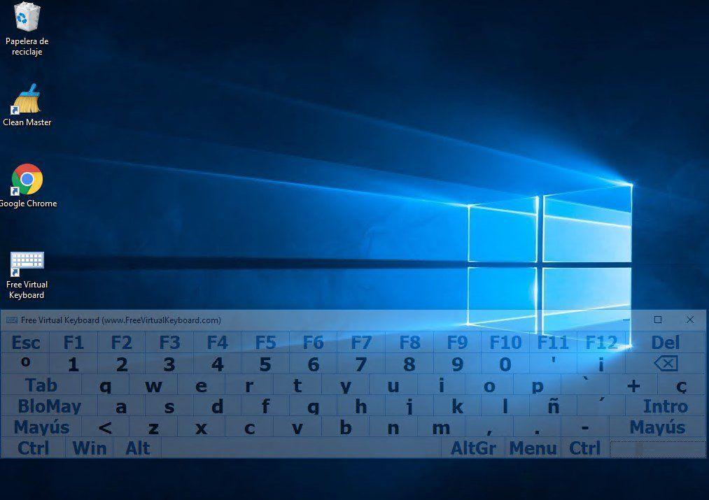 teclado para windows