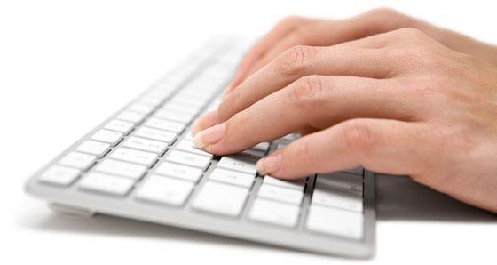 test de teclado